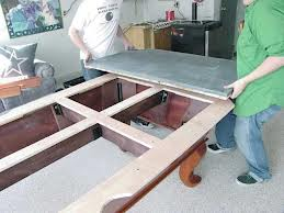 Pool table moves in South Bend Indiana