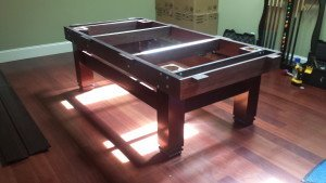Correctly performing pool table installations, South Bend Indiana