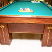 1900's Regina Brunswick 9' Pool Table
