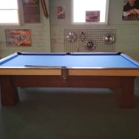 Antique Pool Table - Full Size Slate