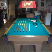 Nice Olhausen 8' Pool Table For Sale